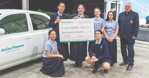 One tree hill college go car finance charity auckland